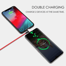 Load image into Gallery viewer, Rotatable Magnetic Duo Charging Cable