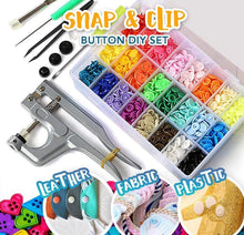 Load image into Gallery viewer, Instant Snap Button Set-150 Pcs /Set