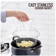 Load image into Gallery viewer, Easy Stainless Cooking Basket