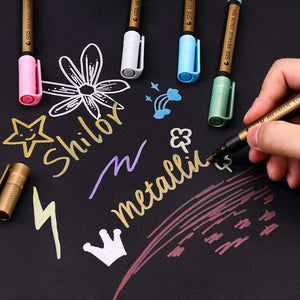 Waterproof Metallic marker Paint