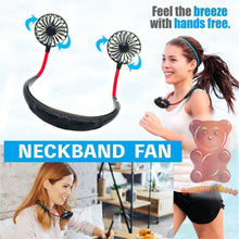 Load image into Gallery viewer, Neckband Fan