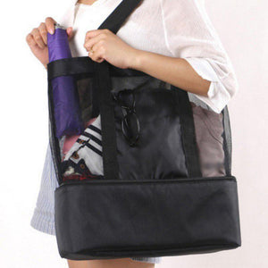 Portable Mesh and Insulated Bag