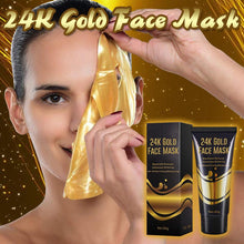 Load image into Gallery viewer, 24K Gold Face Mask