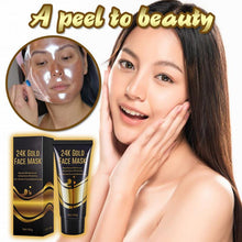 Load image into Gallery viewer, 24K Gold Collagen peel off mask