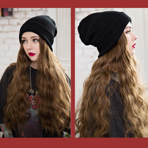 Hair Extension Beanie