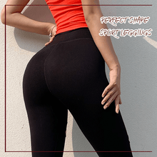 Load image into Gallery viewer, Stylish Tattered Yoga Leggings