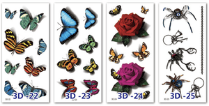 3D Scratch Waterproof Tattoo Sticker