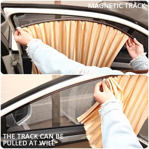 Magnetic Car Window Curtain