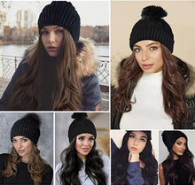 Load image into Gallery viewer, Hair Extension Beanie