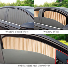 Load image into Gallery viewer, Magnetic Car Window Curtain