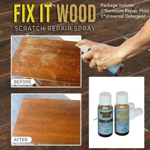 Quick Fix Wood Scratch Repair