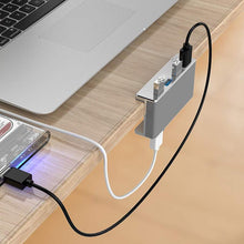Load image into Gallery viewer, Mountable Desk USB Hub