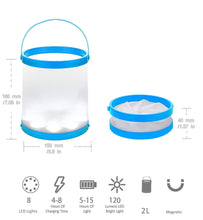 Load image into Gallery viewer, Multiuse Waterproof Solar Bucket Lamp