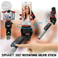 Load image into Gallery viewer, RC Wireless Rotating Selfie Stick