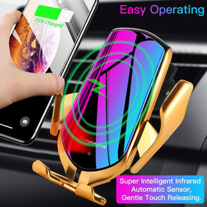 Auto Sensor Car Phone Charger Holder
