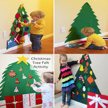 Load image into Gallery viewer, DIY Christmas Felt Tree