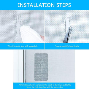 Patch Up Screen Restoration