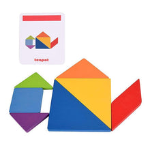 Load image into Gallery viewer, Kiddie Geometric Puzzle