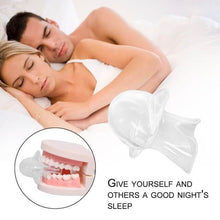 Load image into Gallery viewer, Silicone Anti Snoring Mouthpiece