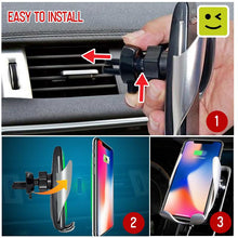Load image into Gallery viewer, Auto Sensor Car Phone Charger Holder