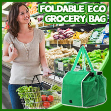 Load image into Gallery viewer, Foldable Eco Grocery Bag