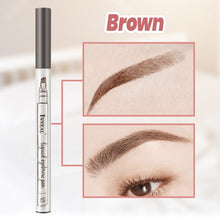 Load image into Gallery viewer, Fork Tip Waterproof Eyebrow Pen
