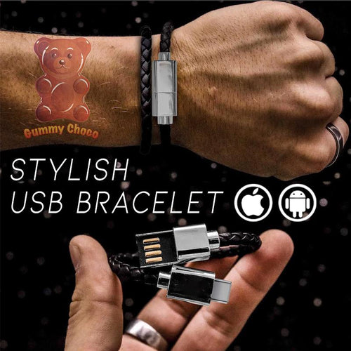 Stylish USB Bracelet