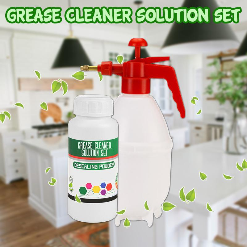 Grease Cleaner Solution Set
