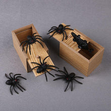 Load image into Gallery viewer, Scary Spider Prank Box