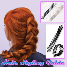 Load image into Gallery viewer, Hair Styling Guide-3 PCS