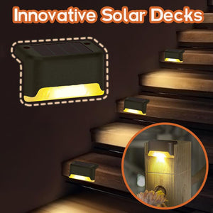 Innovative Solar Decks
