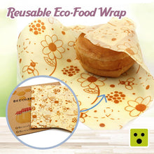 Load image into Gallery viewer, Reusable Eco-Food Wrap