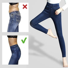 Load image into Gallery viewer, Winter Denim Jeggings