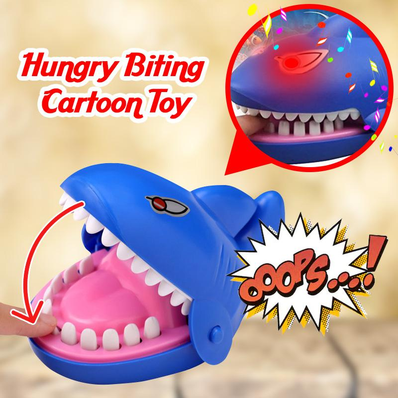 Hungry Biting Cartoon Toy