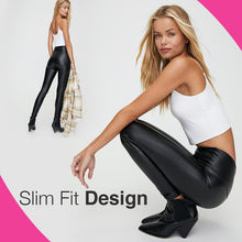 Load image into Gallery viewer, Stretchy Faux Leather Pants