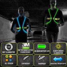Load image into Gallery viewer, LED Safety Vest