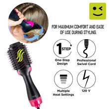 Load image into Gallery viewer, 2in1 Hair Dryer and Volumizer Tool