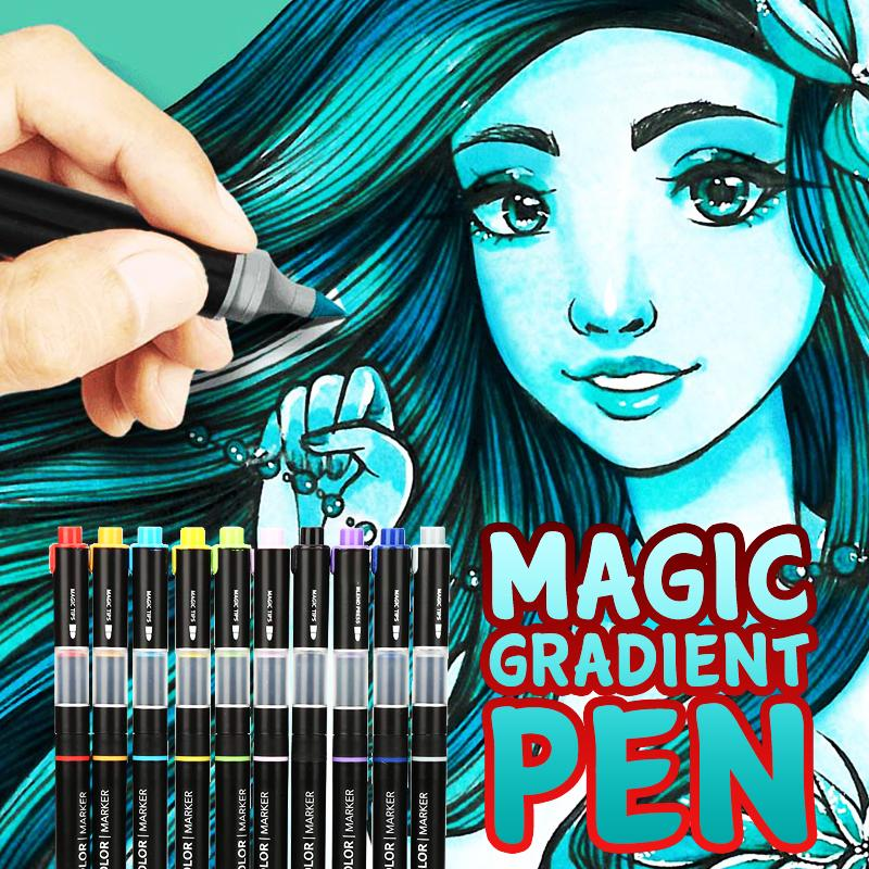 Magic Gradient Pens