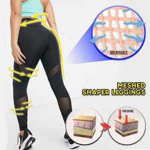Meshed Shaper Leggings