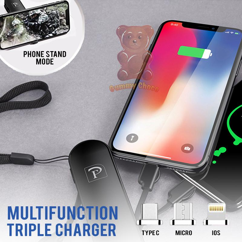 Multifunction Triple Charger