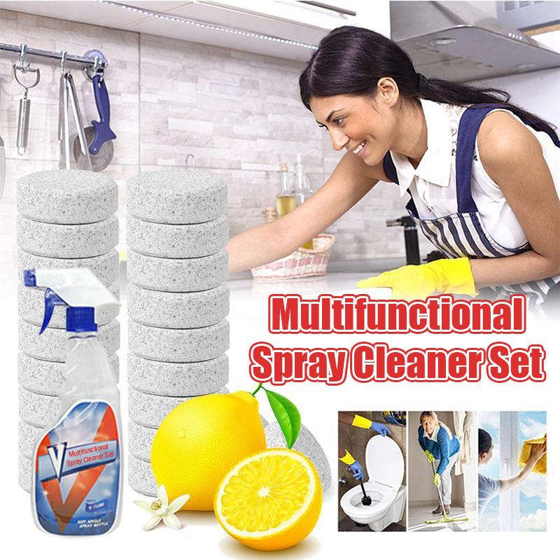 Multifunctional Spray Cleaner Set