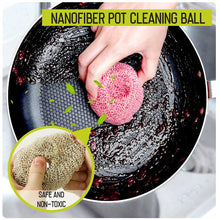 Load image into Gallery viewer, Nanofiber Pot Cleaning Ball