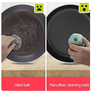 Nanofiber Pot Cleaning Ball