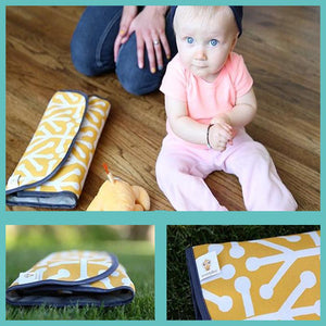 Portable Baby Wrap Diaper Pad