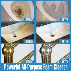 Powerful All-Purpose Foam Cleaner
