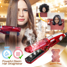 Load image into Gallery viewer, Powerful Steam Hair Straightener