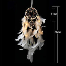 Load image into Gallery viewer, LED Light Dream Catcher