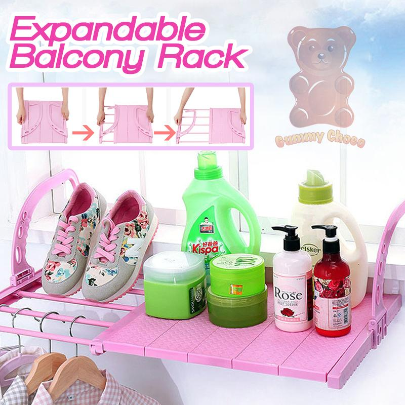 Expandable Balcony Rack
