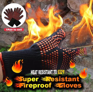 Super Resistant Fireproof Gloves