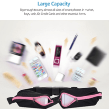 Load image into Gallery viewer, Double Pocket Sports Belt